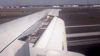 PEOPLExpress 737-400 Inaugural Landing in Newark (KEWR) *With ATC!*