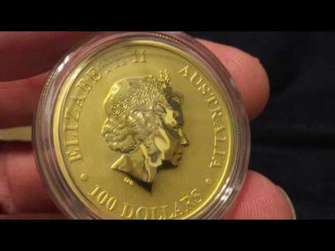 One Ounce Gold Coin Unboxing