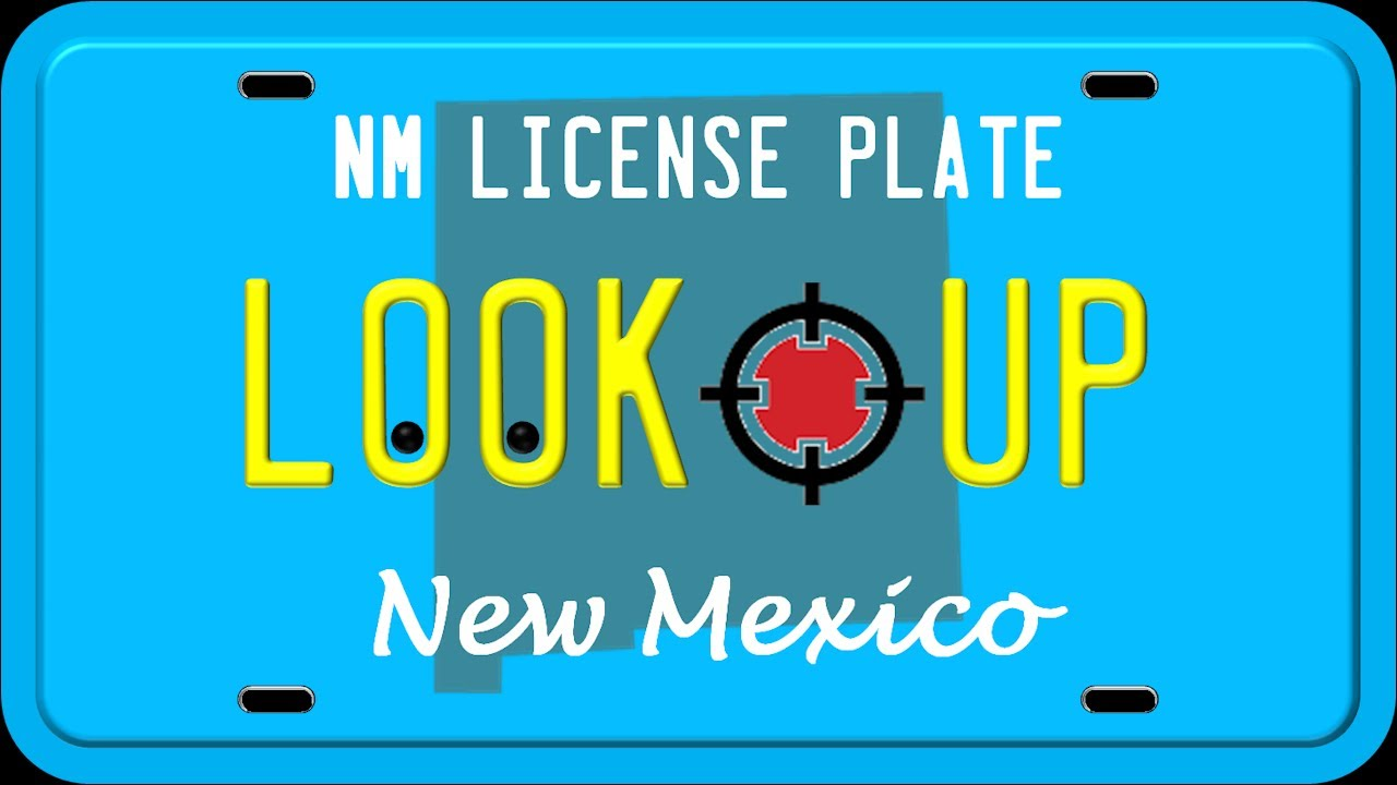 How to Reverse Search a New Mexico License Plate Number
