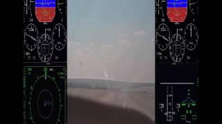 САИП Су-34 вид из кабины(Серьезное авиационное происшествие с самолетом Су-34., 2016-11-18T20:39:30.000Z)