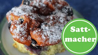 Sattmacher Heidelbeer-Muffins nur 3 Zutaten | Weight Watchers | Clean Eating