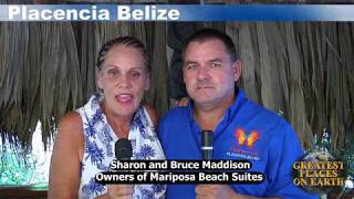 Mariposa Beach Suites in Placencia Belize...Belize Technology Report epi 6