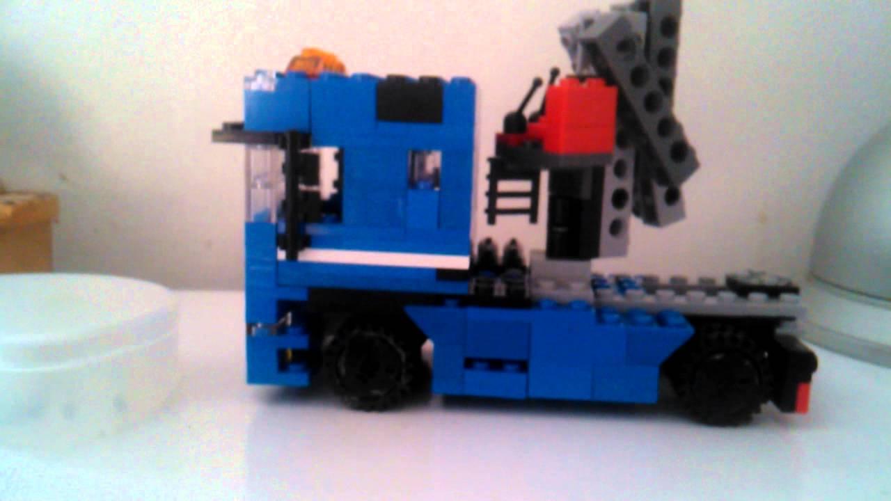 Lego Premier Camion De Fete Foraine YouTube