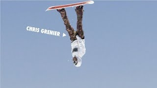 How to do a Ball Grab Backie with Chris Grenier   TransWorld SNOWboarding Grab Directory
