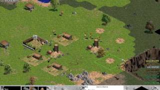 age of empires aoe ror 4v4 game part 1 jp