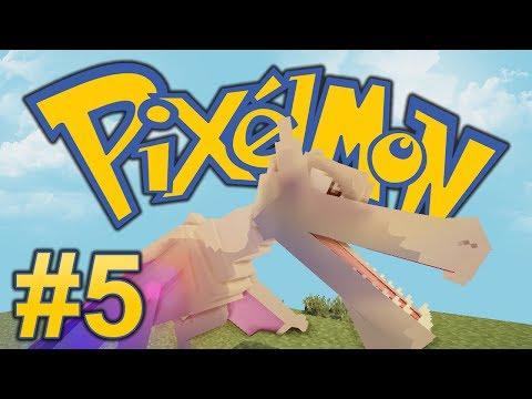 Minecraft PixelLeague Pixelmon - Episode 5 - FOSSIL EXTRACTION! (Pixelmon Mod)
