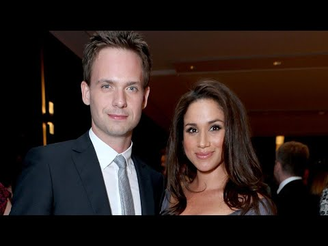Patrick J. Adams Reveals the Wedding Gift He's Buying for Meghan Markle and Prince Harry (Exclusi…