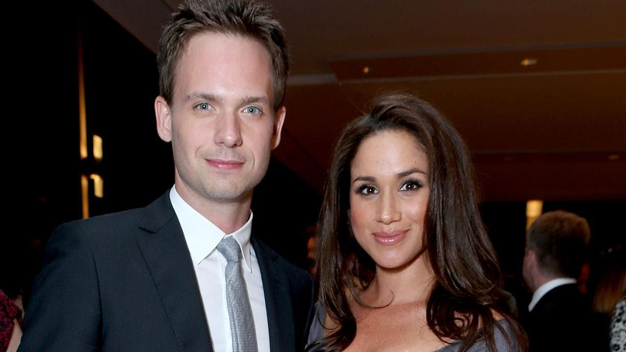 Patrick J Adams Reveals The Wedding Gift He S Ing For Meghan Markle And Prince Harry Exclusi