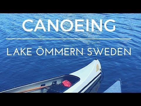 Canoeing in Sweden, Lake Ömmern / Torskabotten - Travel Vlog 4