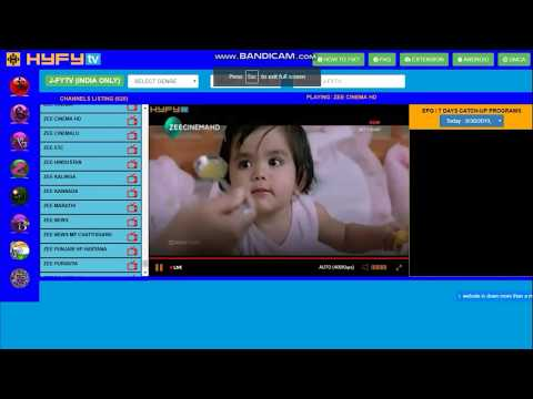 Watch Live JioTV Channels In HD On Desktop Without Any Software