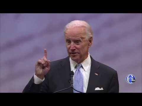 Vice President Joe Biden Honors Senator John McCain at the 2017 Liberty Medal Ceremony