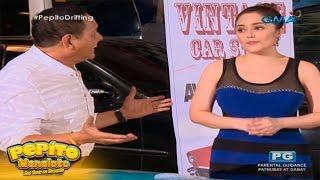 Pepito Manaloto: Vintage car show model