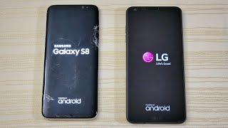 Galaxy S8 vs LG G6 - Speed Test! (4K)
