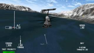 Comanche3 1024x768, hi-detail Gameplay
