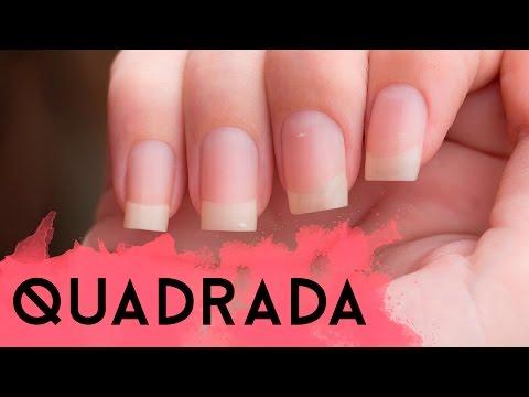 COMO LIXAR UNHAS QUADRADAS - Ideia Rosa