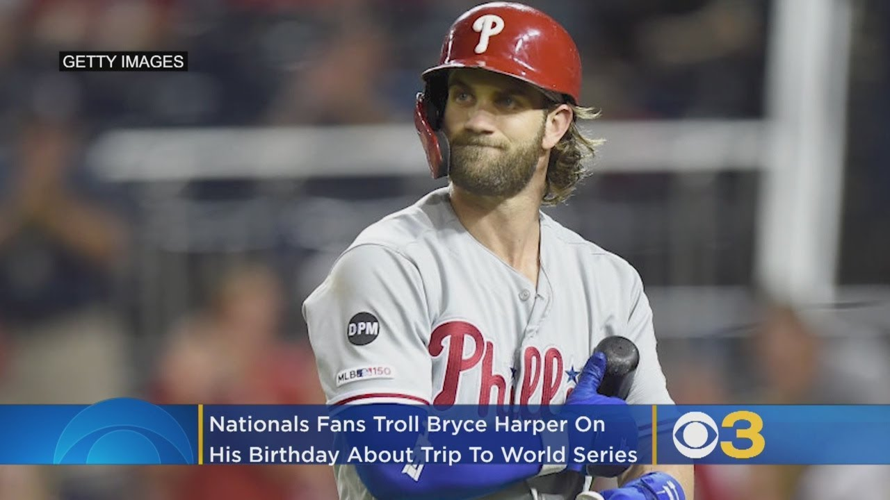Bryce Harper gets trolled on Twitter after Nats win World Series title