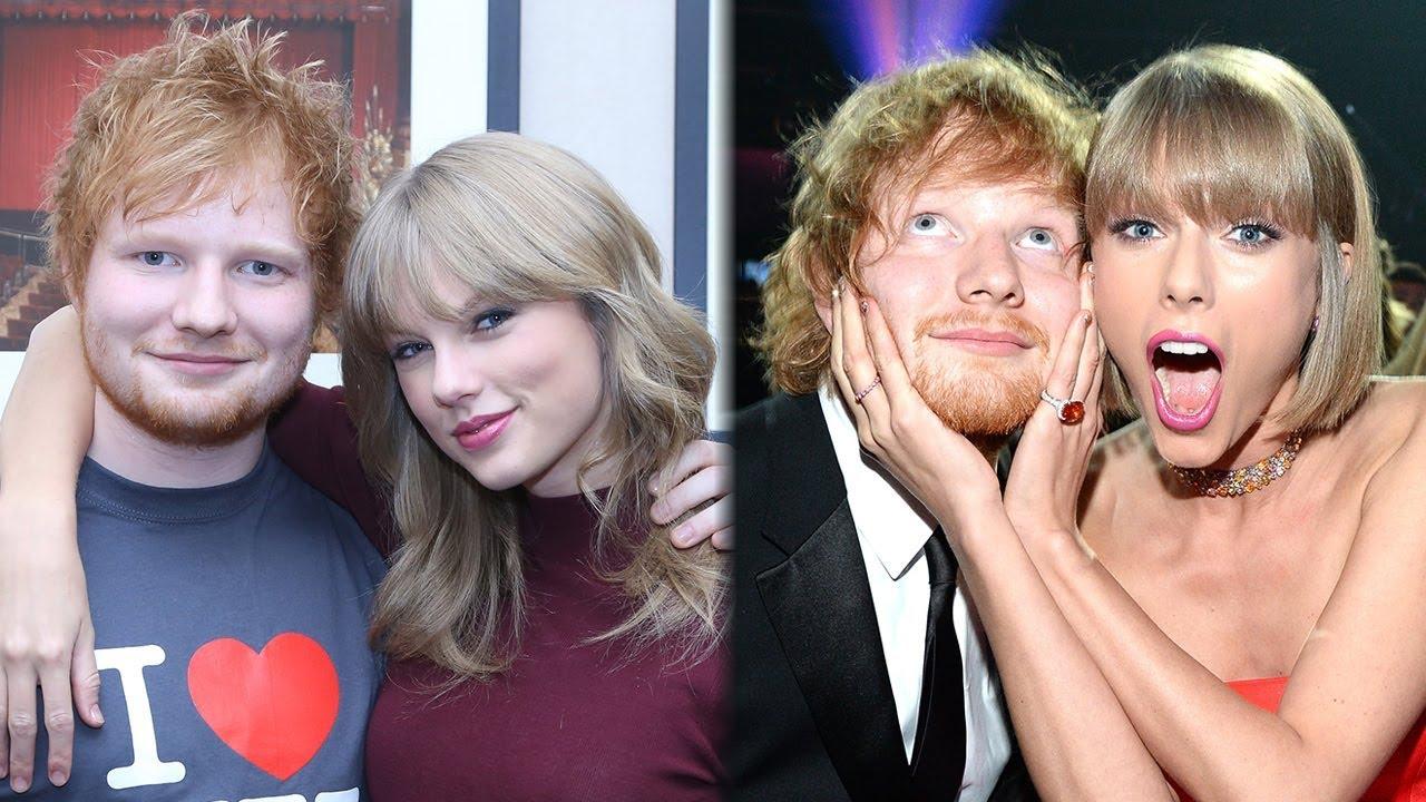 10 Cutest Taylor Swift Ed Sheeran Bff Moments Youtube