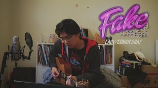 Download lagu Lauv & Conan Gray - Fake (cover)
