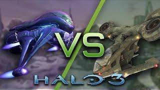 Halo 3 AI Battle - Banshees vs Hornets