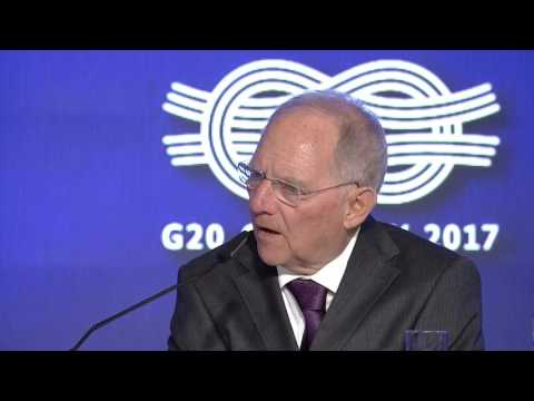 KEYNOTE - Wolfgang Schäuble, Minister of Finance, Germany
