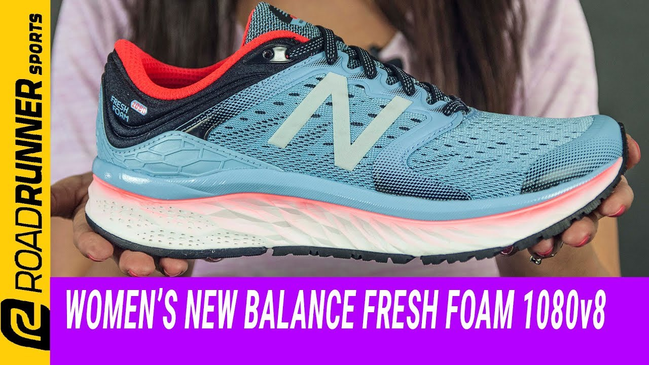 Women's New Balance Fresh Foam 1080v8 | Fit Expert Review
