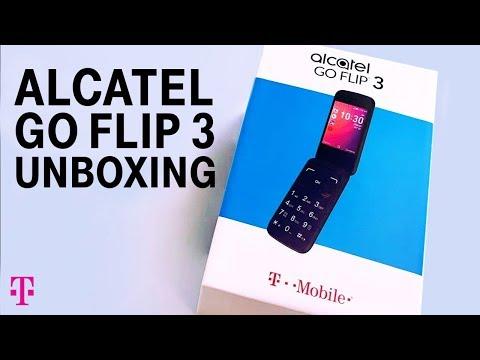 Alcatel GO FLIP™ 3 Phone Unboxing With Des | T-Mobile