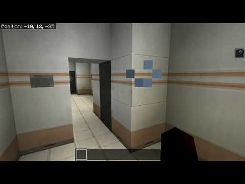 HOW TO MAKE SCP DOORS IN MINECRAFT!!!!!!!!!!!!!!!! Minecraft SCP