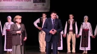 Prezentare spectacol Bor Serbia Ansmbluri de muzica si dansuri populare din Mehedinti
