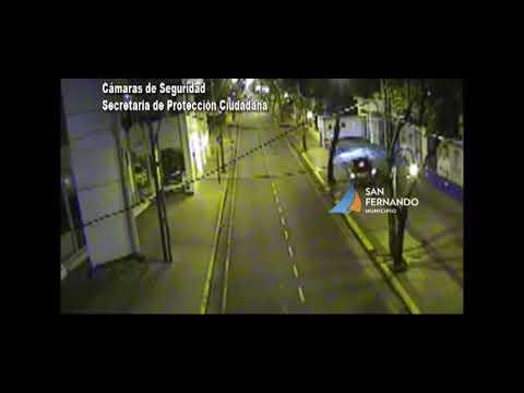 Choque Moto Contra Auto San Fernando