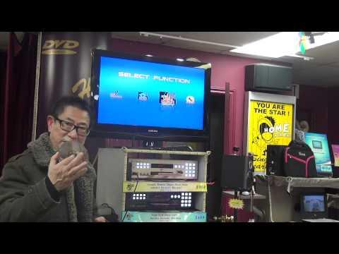 Double Remote Super Hard Drive Karaoke Machine
