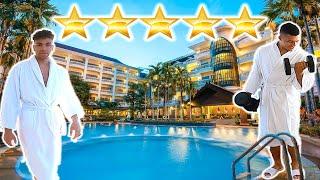 1 NACHT IM BESTEN HOTEL UNSERER STADT VERBRINGEN - CHALLENGE !!! | PrankBrosTV