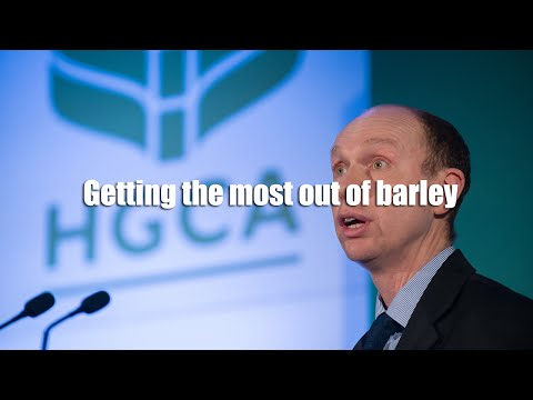 Getting the most out of barley
