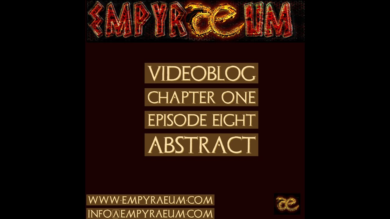 Videoblog Episode 8 - Abstract
