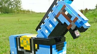 LEGO Diamond Armor Horse - Minecraft