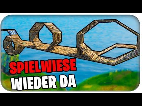 SPIELWIESE WIEDER DA 🗺️🎢 GRÖSSTE ACHTERBAHN | Fortnite Playground Mode Deutsch German