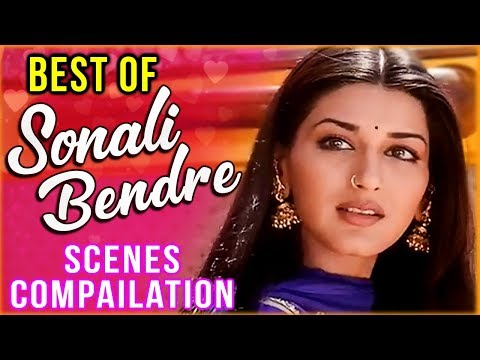 Best Of Sonali Bendre | Sonali Bendre Best Scenes From Hindi Movie Hum Saath Saath Hain