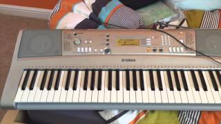 MIDI Playing on the Yamaha PSR E303 Keyboard