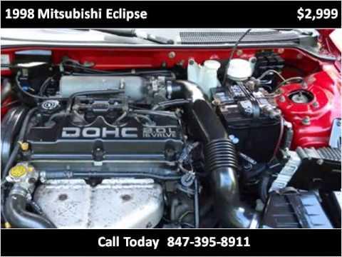 1998 Mitsubishi Eclipse Used Cars Wadsworth IL