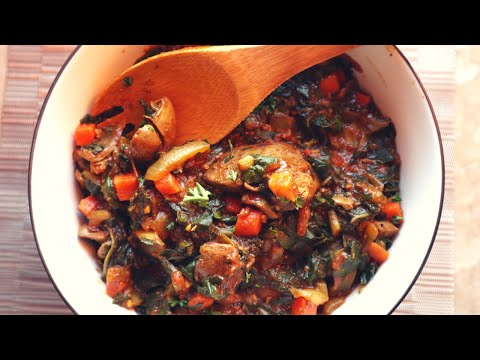 Spinach And Chicken Liver Seshebo