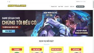 [SHARE CODE XỊN] Share Code Bán Nick Game Tự Động Bản Siêu Xịn Cho AE | KanGenCodez