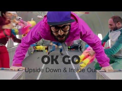 OKGo - Upside down and inside out lyrics (letra)