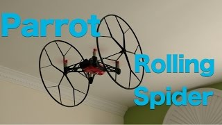 Parrot Minidrones Rolling Spider Review, Mini Drone That Flips and Rolls