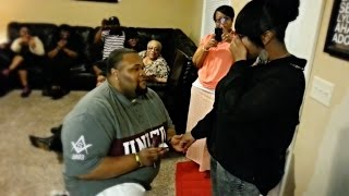 The Best Surprise Proposal Ever!!!!!