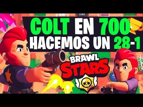 COLT DE 600 A 700 COPAS EN BRAWL STARS!!! TODO VICTORIAS!! PARTE 1 - MaR-CeU