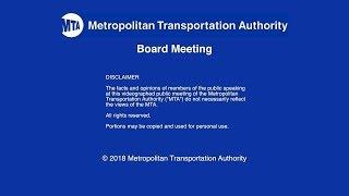 MTA Board - MNR Committee Meeting - 09/24/2018