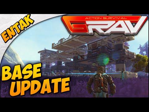 GRAV Gameplay ➤ Base Building Update, How To Build, & Base Defense [Level 7]