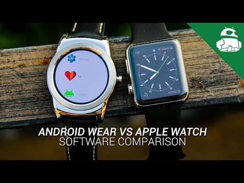 Android Wear VS Apple Watch: Software Comparison
