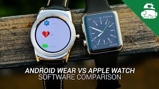 Repeat youtube video Android Wear VS Apple Watch: Software Comparison