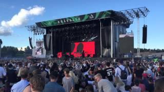 Major Lazer - Roll the Bass live @ Bråvalla festival, Sweden