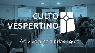 Culto Vespertino - Marcos 8.34-35 (12/09/2021)